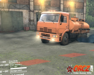 Truck Mud Tires >> Spintires: Type C-6522 Truck - Orcz.com, The Video Games Wiki