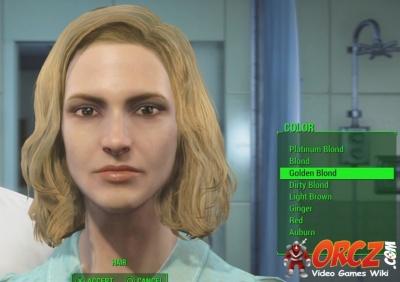 Fallout 4 Hair Color Golden Blond Orcz Com The Video