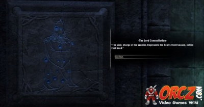 Eso The Lord Constellation Orczcom The Video Games Wiki