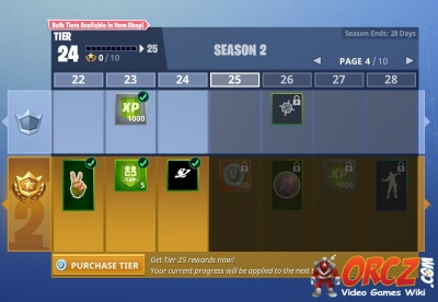 fortnite battle royale battle pass tiers - how much is a tier in fortnite