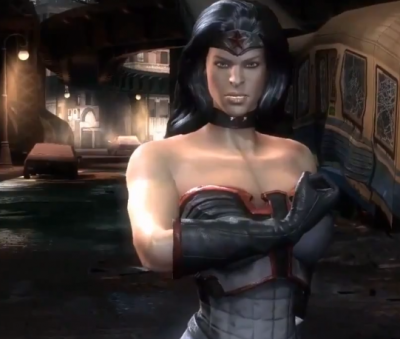 Wonder Woman s Red Son costume in Injustice  Gods Among UsRed Son Wonder Woman Injustice