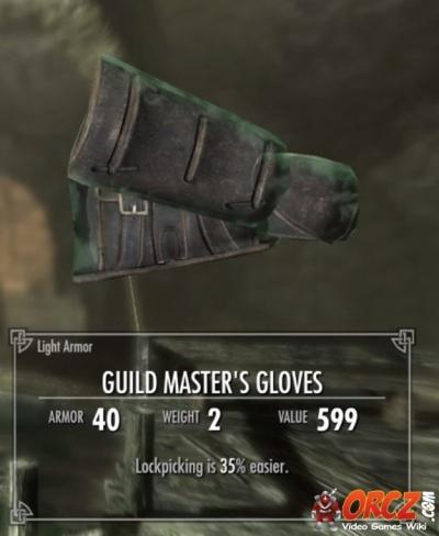 Skyrim: Guild Master's Gloves - Orcz com, The Video Games Wiki