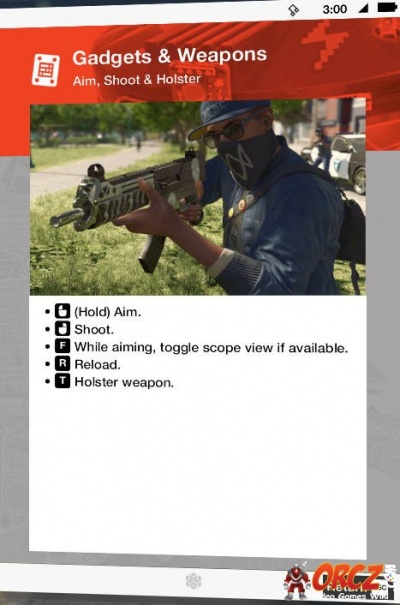 Watch Dogs  Holster Your Weapon