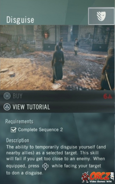 Assassins Creed Unity Disguise Orczcom The Video Games Wiki