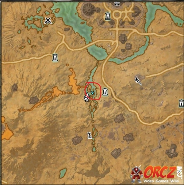 ESO: Stonefalls CE Treasure Map - Orcz.com, The Video Games Wiki