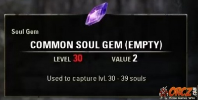 how to get empty sould gems eso