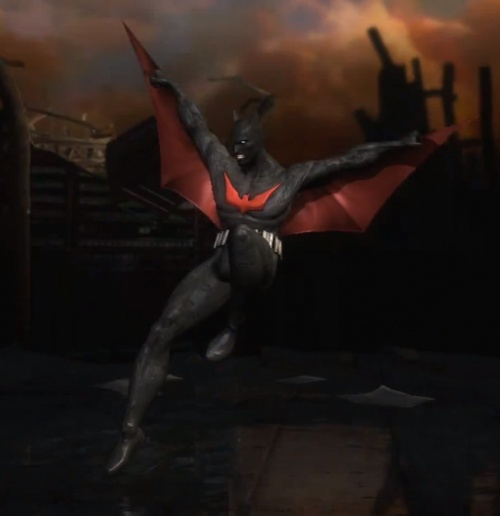 Injustice Gods Among Us Batman Batman Beyond Alternate Costume - Orcz.com The Video Games Wiki & Injustice: Gods Among Us: Batman Batman Beyond Alternate Costume ...