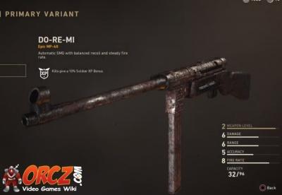 Call Of Duty Ww2 Do Re Mi Orcz Com The Video Games Wiki