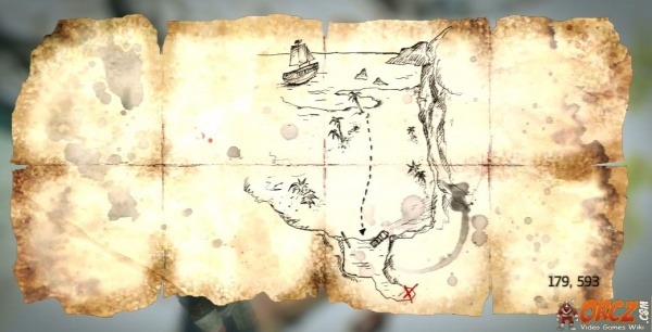 Assassin s Creed IV Cape Bonavista Treasure Map Orcz The