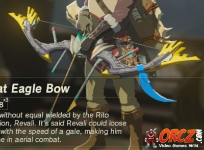 Breath of the Wild: Great Eagle Bow - Orcz com, The Video