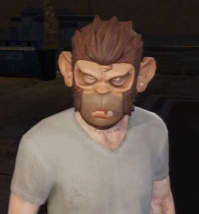 GTA V  Space Monkey Mask - Orcz.com c07b266143ec