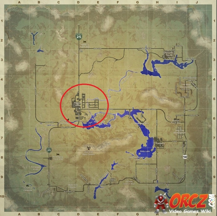 H1Z1 Pleasant Valley Map Orcz The Video Games Wiki
