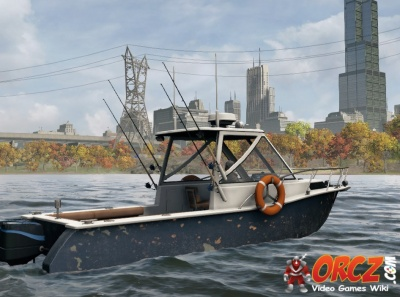 Watch dogs fishing boat the video games wiki for Fishing boat games