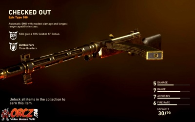 Call Of Duty Ww2 Checked Out Orcz Com The Video Games Wiki