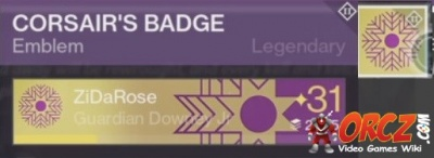 what to do with corsair badge