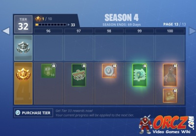 season 4 battle pass rewards in fortnite br - fortnite free rewards