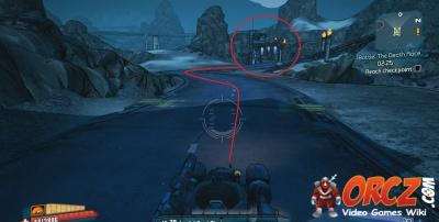 Borderlands 2: Reach Checkpoint - Death Race - Orcz com, The