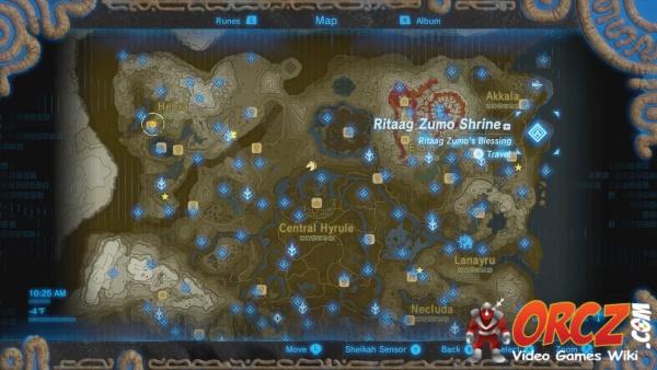Zelda Botw Shrine Map >> Breath of the Wild: Ritaag Zumo Shrine - Orcz.com, The Video Games Wiki