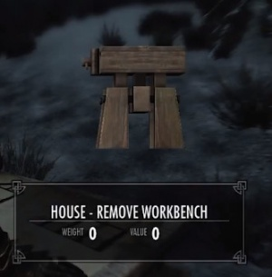 Skyrim House Remove Room