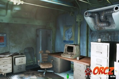 Fallout 4 Vault 111 Security Office Orcz Com The