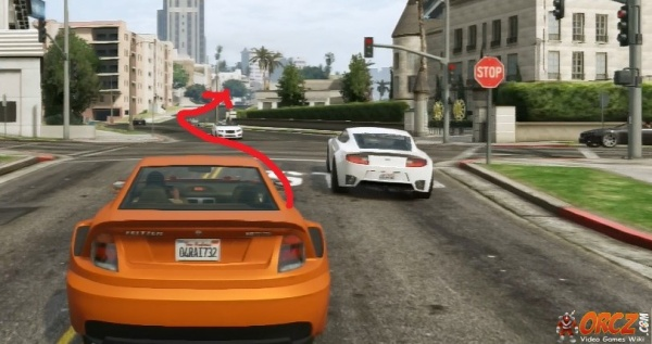 Michaels Auto Plaza >> GTA V Directions: From Michael's House to Vinewood Plaza - Orcz.com, The Video Games Wiki