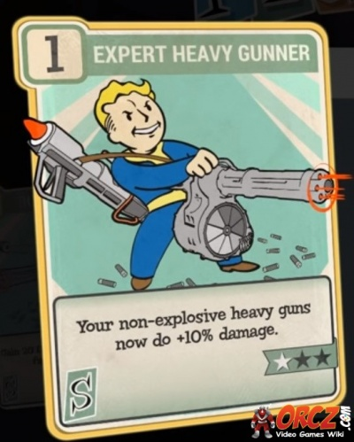Fallout 76: Expert Heavy Gunner - Orcz com, The Video Games Wiki