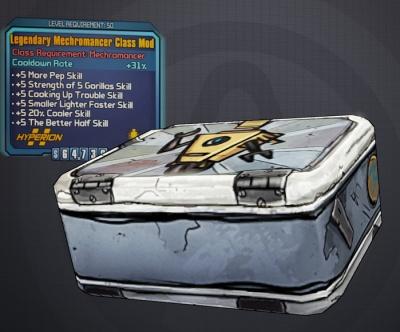 Borderlands 2: Legendary Mechromancer Class Mod - Orcz com