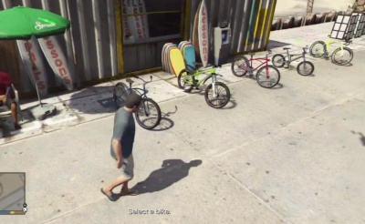 Bikes Gta V GTA V Go to the bike rental