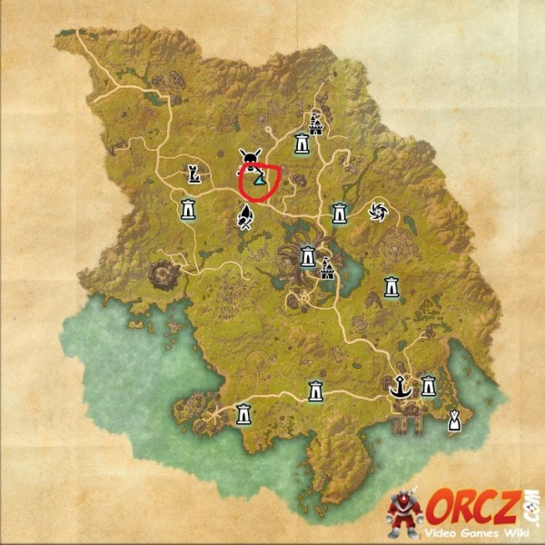 ESO: Grahtwood Treasure Map IV - Orcz.com, The Video Games