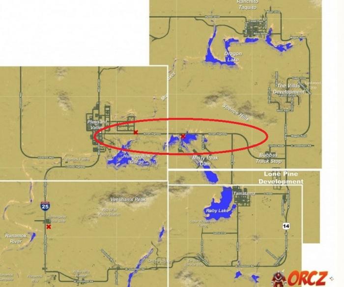 H1Z1: Avram Highway - Map - Orcz com, The Video Games Wiki