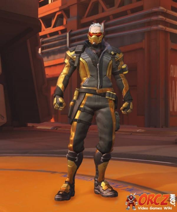 5bc58469f Overwatch  Soldier 76 Golden Skin - Orcz.com