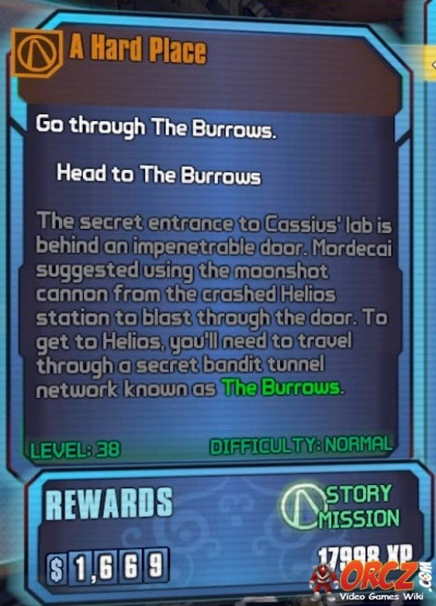 Borderlands 2: A Hard Place - Orcz com, The Video Games Wiki