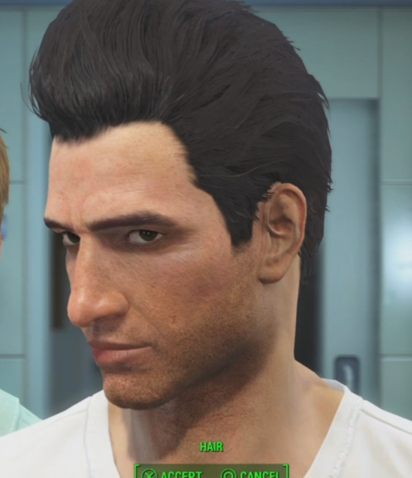 Fallout 4 Male Hair Pompadour Orcz The Video Games Wiki