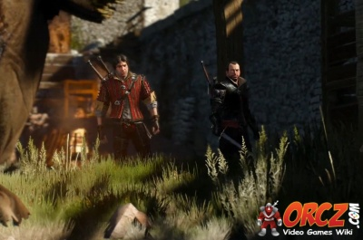 Witcher 3 kaer morhen lower courtyard orcz com the video games