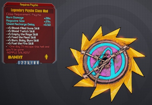 Borderlands 2: Legendary Psycho Class Mod - Orcz com, The