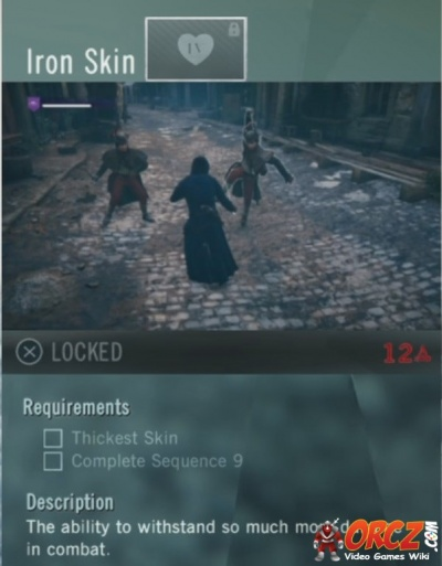 Assassins Creed Unity Iron Skin Orczcom The Video Games Wiki