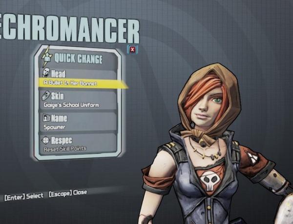 borderlands 2 mechromancer shift codes