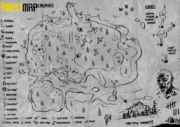 the forest game map