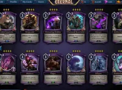 Eternal: Card List - Orcz.com, The Video Games Wiki