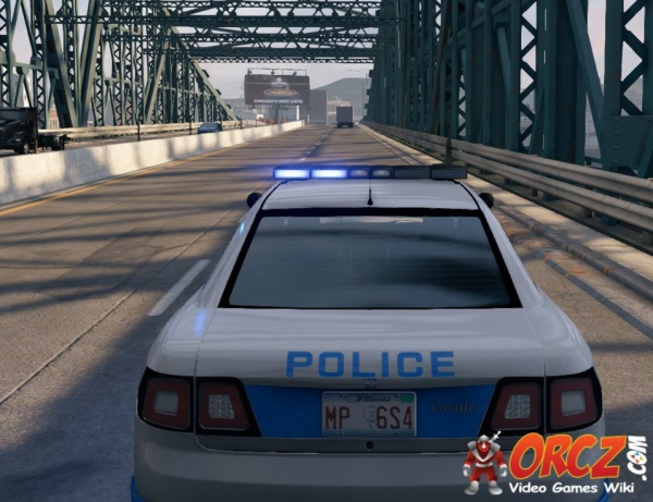 Car Dashboard Lights >> Watch Dogs: Police Patrol Car - Cavale - Orcz.com, The ...