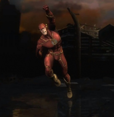 Injustice Gods Among Us Flash