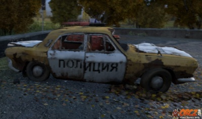 ... in a Parking Lot in Stary Sobor in DayZ SA (DayZ Standalone Version