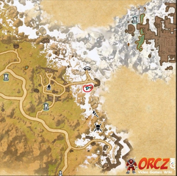 ESO: Eastmarch CE Treasure Map   Orcz.com, The Video Games Wiki