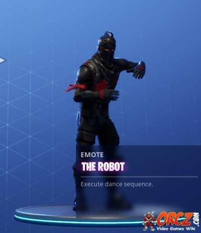Fortnite Battle Royale The Robot Orcz Com The Video Games Wiki