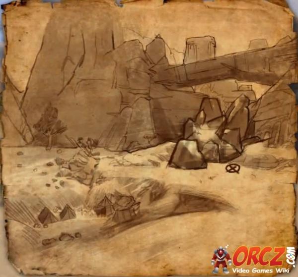 eso bangkorai ce treasure map orcz the video games wiki