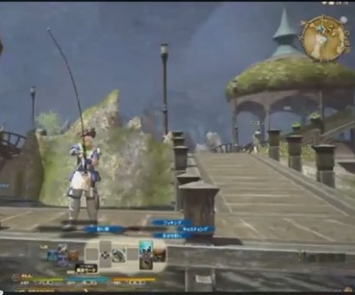 Fishing in Final Fantasy 14: A Realm Reborn