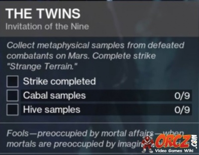 Destiny 2: The Twins - Orcz com, The Video Games Wiki