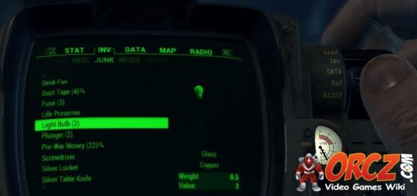Fallout 4: Light Bulb - Orcz com, The Video Games Wiki