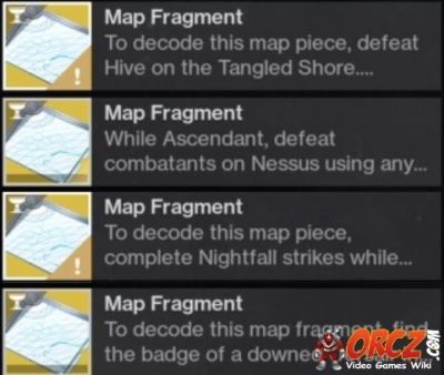 Destiny 2: Complete the Map Fragments - Truth - Orcz com