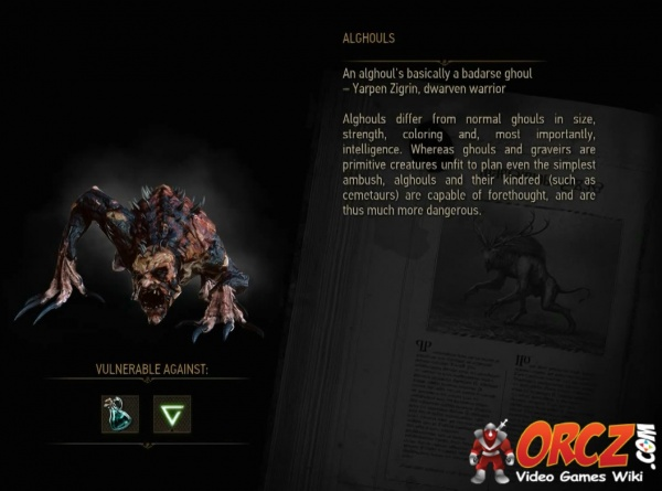 Witcher 3: Alghoul - Orcz com, The Video Games Wiki